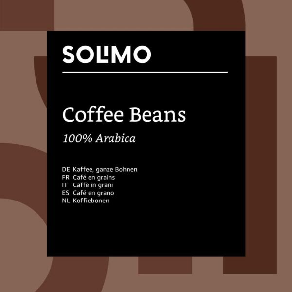Solimo Coffee Beans, 2 x 1kg