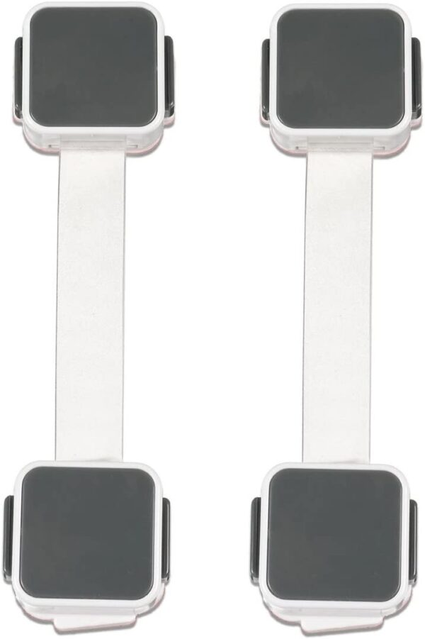 Lindam Xtraguard Dual Action Multi Use Latches, 2 Pack