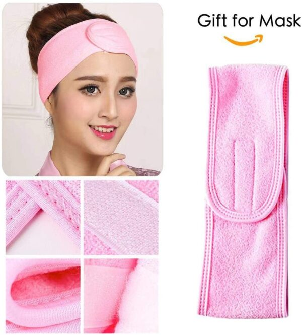 100 pcs Compressed Facial Mask Sheet Beauty DIY Disposable Mask Paper Natural Cotton Skin Care Wrapped Masks Normal Thick,Get a Small Mask Bowl, Mask Brushes and Hair Band Free