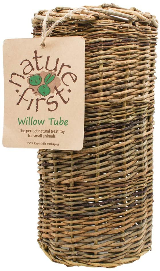 Nature First Large Willow Tube for Small Animals
