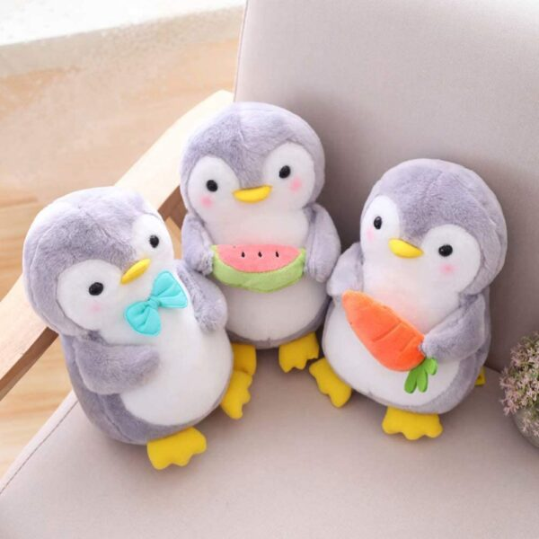 PRETYZOOM Penguin Plush Stuffed Animal Toy Cute Soft and Cuddly Suitable for Babies and Children 25cm