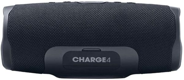 JBL Charge 4 Portable Bluetooth Speaker and Power Bank with Rechargeable Battery – Waterproof – Black