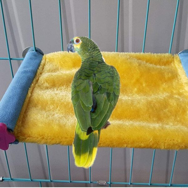 Keer Winter Warm Bird Nest House Bed Hammock Toy for Pet Parrot Budgie Parakeet Cockatiel Conure Cockatoo African Grey Amazon Lovebird Finch Canary Hamster Gerbils Chinchilla Cage Perch