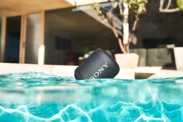 Sony Srs-XB12 Compact and Portable Waterproof Wireless Speaker with Extra Bass - Black SRSXB12B.CE7