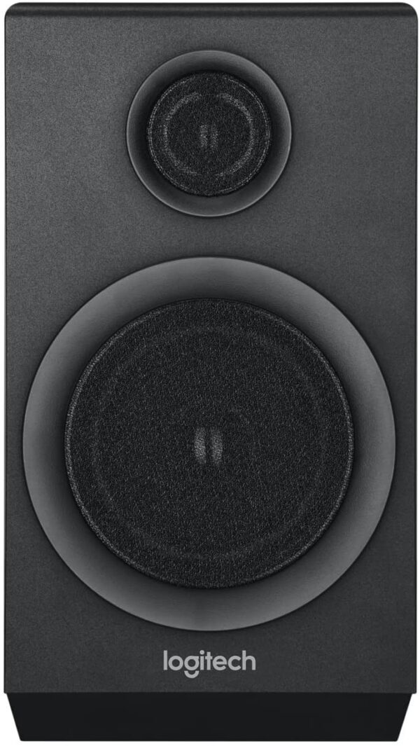 Logitech Z333 2.1 Multimedia Speaker System with Subwoofer, Rich Bold Sound, 80 Watts Peak Power, Strong Bass, 3.5mm Audio and RCA Inputs, UK Plug, PC/PS4/Xbox/TV/Smartphone/Tablet/Music Player