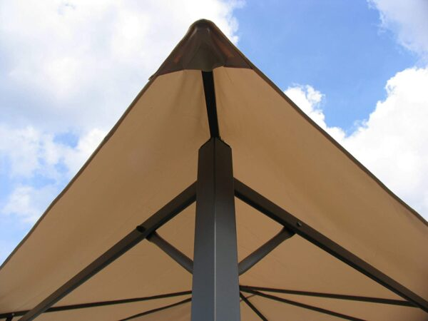 QUICK STAR Replacement Roof for Garden Gazebo 3x3m Beige