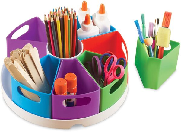 Learning Resources LER3806 Create-A-Space Storage Center, Multicoloured