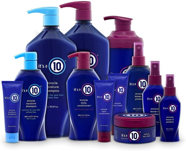 It's a 10 Haircare Miracle Leave-In product, 295 ml