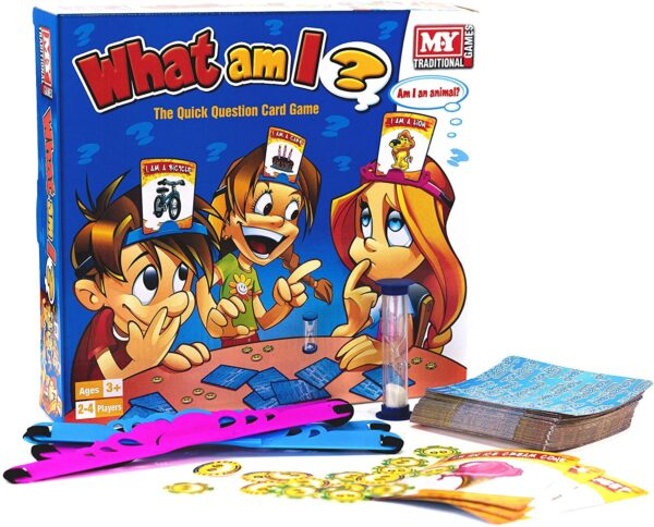 M.Y What Am I Family Card Game for Children | Quick Question Card Game Suitable for Adults and Kids
