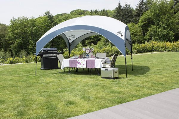 Coleman Gazebo, Fastpitch Shelter for Garden and Camping, Sturdy Steel Construction, Large Tent, Portable Sun Shelter with Protection SPF 50
