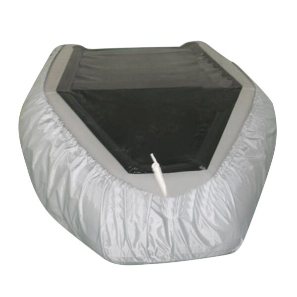 Waterproof UV Resistant Inflatable Boat / Dinghy / Tender Cover Storage Rain Shelter for 7.5-17ft Boat Dinghy Tender Accessories
