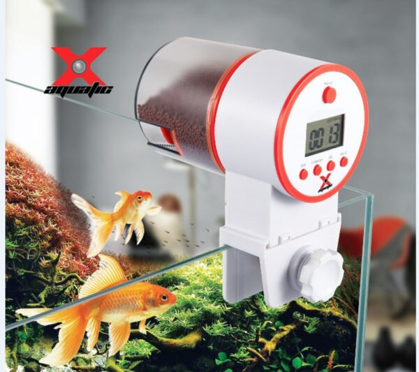 New Aquarium Tank Auto Fish Feeder Timer Digital LCD Automatic Food Feeding Electronic Fish Foods Feeder