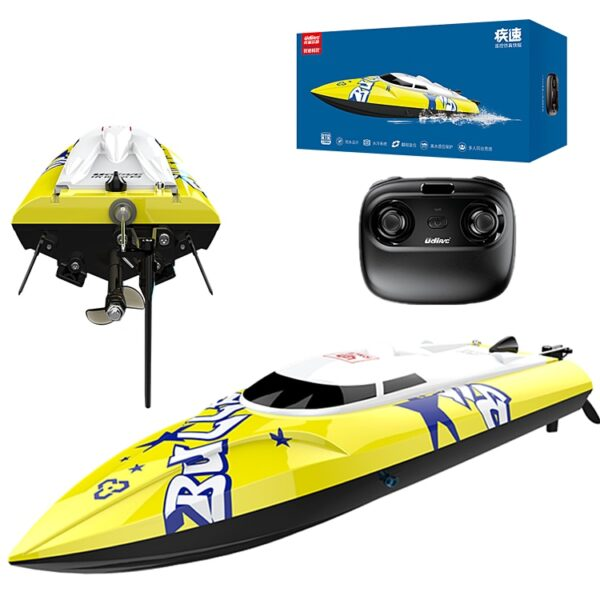 New Brushless RC Racing Boat 20KM/h High Speed Electronic Remote Control Boat Toys For Kids Remote Control Toys