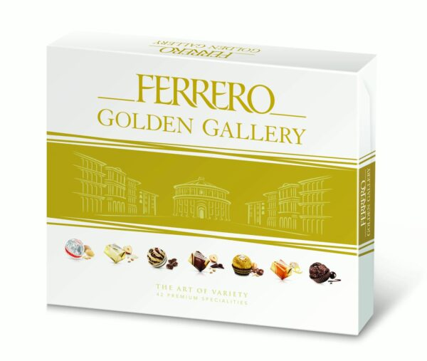 Ferrero Golden Gallery Premium Fine Assorted Confections, 42 Ct